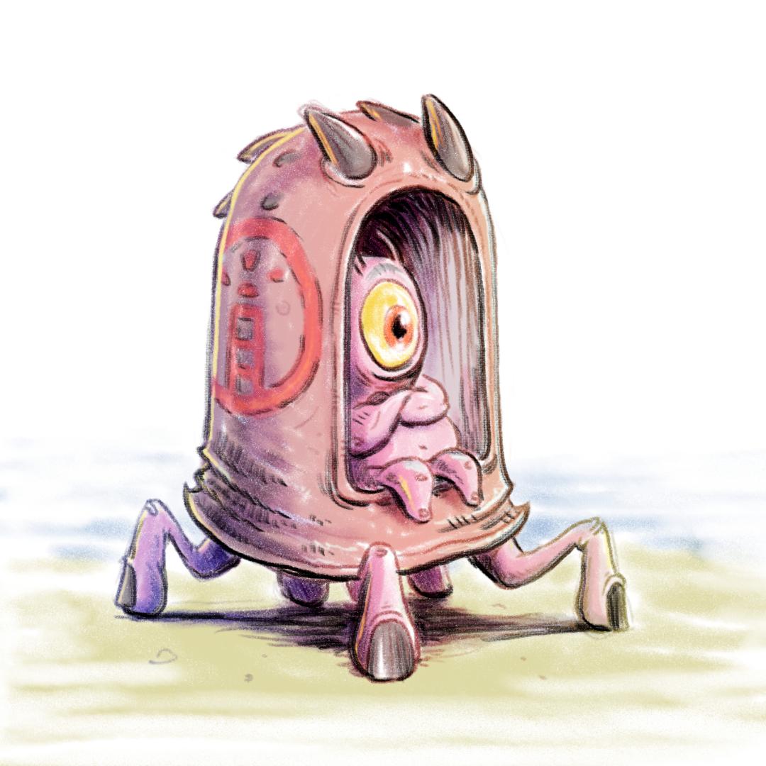 alien crab thing